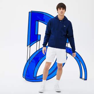 Lacoste Men's SPORT Hooded Sweatshirt - Novak Djokovic Supporter Collection