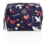 Tory Burch Tory Burch Brigitte Printed Nylon Cosmetic Case
