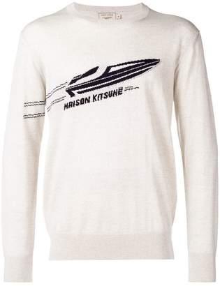 MAISON KITSUNÉ Speedboat sweater