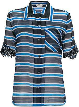 Fendi Bayadere Stripes Shirt