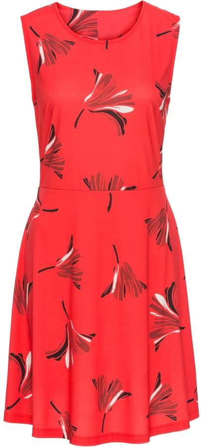 BODYFLIRT Jerseykleid mit Blumenprint