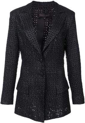 Christian Siriano classic fitted blazer
