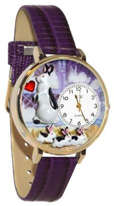 Whimsical Watches Bunny Rabbit Watch in Gold (Large)