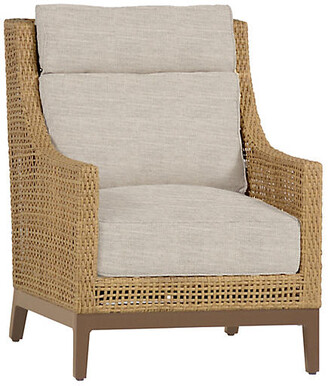 Peninsula Club Chair - Dove Sunbrella - SUMMER CLASSICS INC