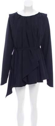 Lemaire Virgin Wool Mini Dress