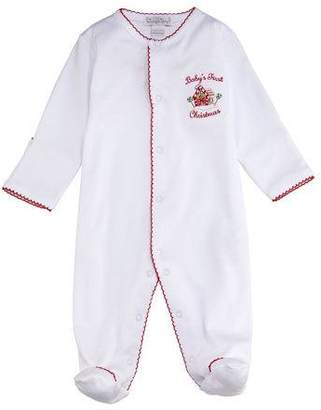 Kissy Kissy Baby's First Christmas Footie Playsuit, Size 0-9 Months