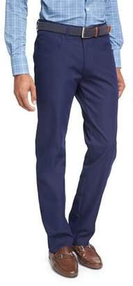 Peter Millar Crown Sport EB66 Performance 6-Pocket Pants, Slate $145 thestylecure.com