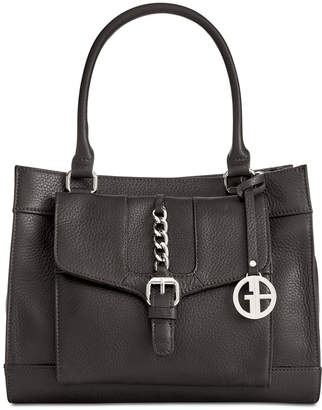 Giani Bernini Pebble Leather Satchel