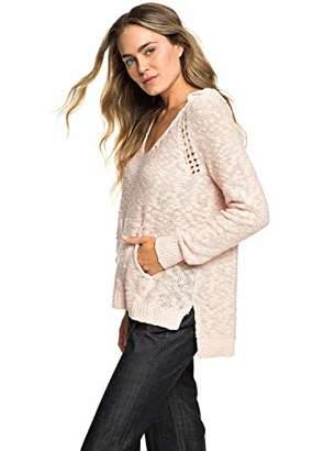 Roxy Junior's Airport Vibes Lightweight Hooded Sweater
