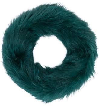 Yves Salomon knitted snood