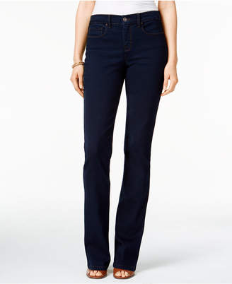 Style & Co Tummy-Control Bootcut Jeans, Created for Macy's $49 thestylecure.com
