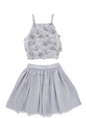 STELLA M LIA Stella M'Lia 3D Tulle Two-Piece Dress