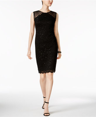 R & M Richards Sequined Lace Sheath Dress $89 thestylecure.com
