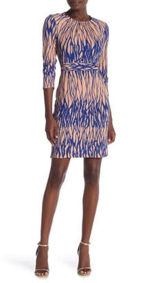 Amelia Blue/pink Workaholic Dress