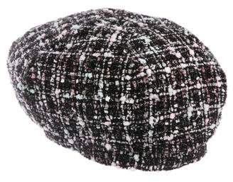 Eugenia Kim Tweed Knit Beret