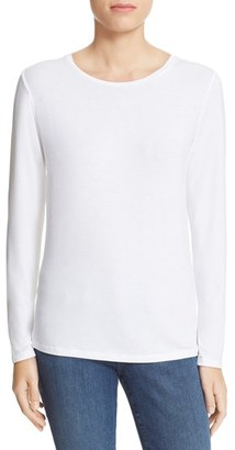 Women's Majestic Filatures Long Sleeve Crewneck Top $135 thestylecure.com