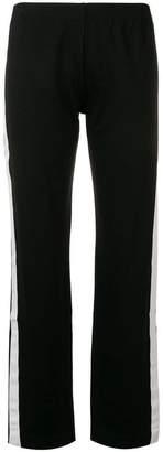 Blugirl side-stripe trousers