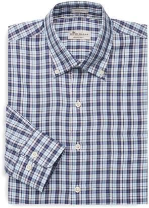 Peter Millar Soft Checkered Dress Shirt