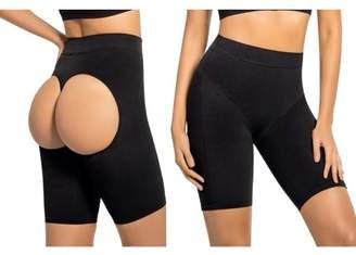 Shape Mi High Waist Open Butt Lift Thigh Length Shaper