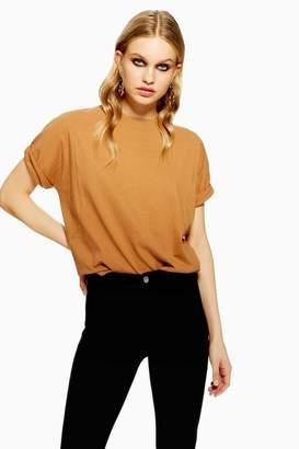 Topshop Womens Washed T-Shirt