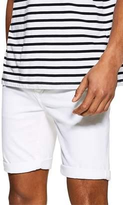 Topman Samuel Stretch Skinny Denim Shorts