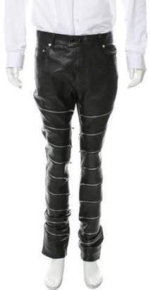 Saint Laurent 2015 Leather Pants w/ Tags