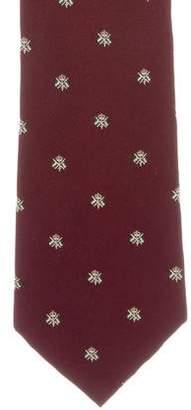 Ralph Lauren Purple Label Patterned Print Tie