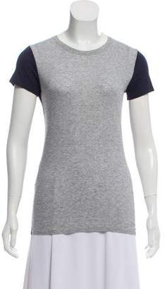 Vince Colorblock Short Sleeve Top