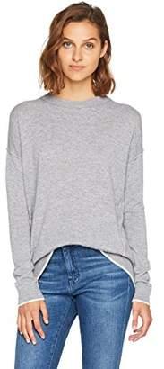 BOSS Women's Wolmay 10201081 01 Cardigan, (Medium Grey 032), Large