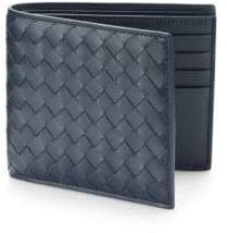 Bottega Veneta Men's Intrecciato Leather Wallet - Black