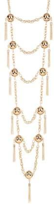 Natasha Accessories Chain Drop Necklace