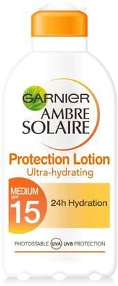 Ambre Solaire Garnier Ultra-Hydrating Sun Cream SPF15 200ml