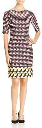 BOSS Dareika Geometric Print Dress