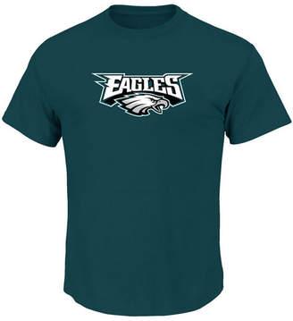 Profile Men's Philadelphia Eagles Basic Logo Performance Big & Tall T-Shirt