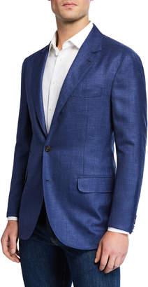 Brunello Cucinelli Men's Deconstructed Wool/Silk/Linen Sport Coat