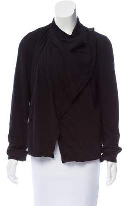 Kimberly Ovitz Draped Long Sleeve Top
