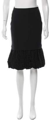 Altuzarra Eyelet Knee-Length Skirt