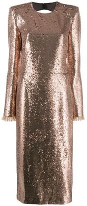 Philosophy di Lorenzo Serafini glitter effect dress