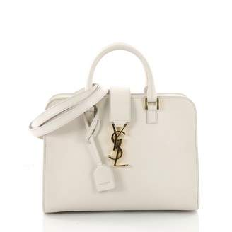 Saint Laurent Monogram Cabas leather handbag
