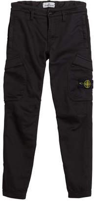 Stone Island Straight Leg Cargo Pants, Size 8-10