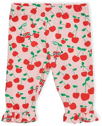 Fendi cherry print trousers