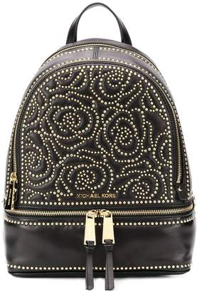 Michael Kors floral studded backpack
