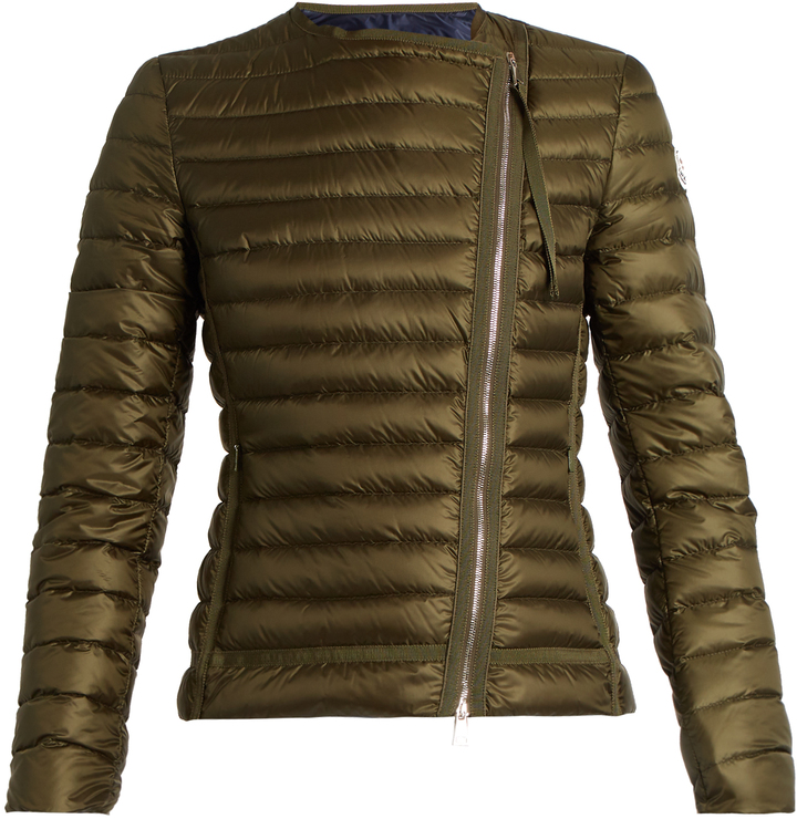 MonclerMONCLER Amy asymmetric quilted down jacket