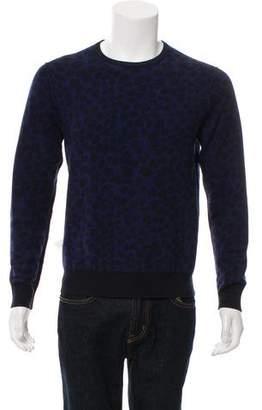 Acne Studios Clissold Animal Wool Sweater