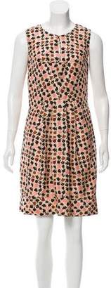 HUGO BOSS Boss by Silk Printed Dress