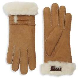 UGG Suede & Shearling Gloves