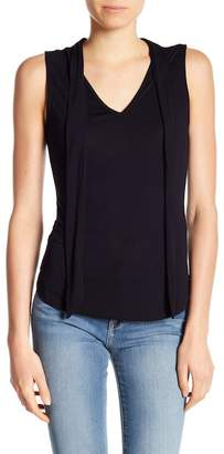 Frame Front Tie Tank Top