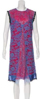 Altuzarra Silk-Trimmed Lace Dress