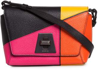 Akris Little Anouk Patchwork Leather Crossbody Bag
