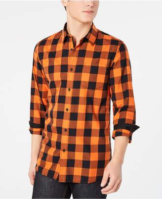 American Rag Men Buffalo Plaid Pocket Shirt